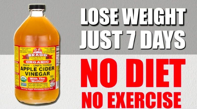 How To Use Apple Cider Vinegar To Lose Weight in A Week