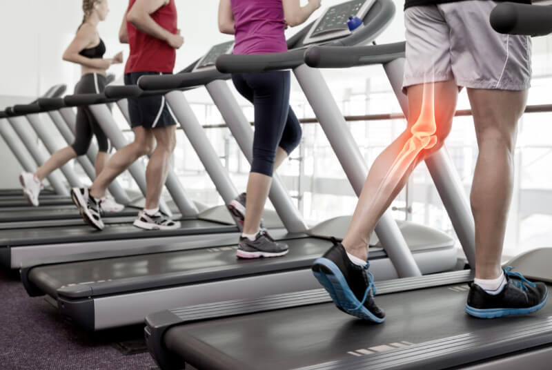 Are treadmills bad for your knees