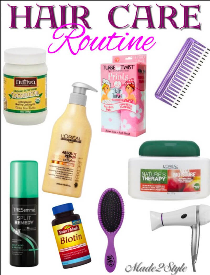 Hair Care Routine