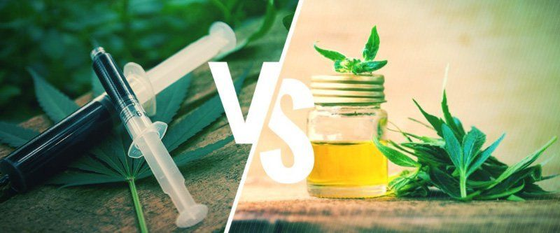Difference between Simpson oil and CBD oil