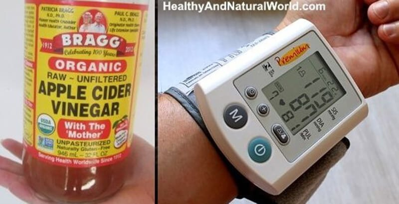 Apple Cider Vinegar For High Blood Pressure