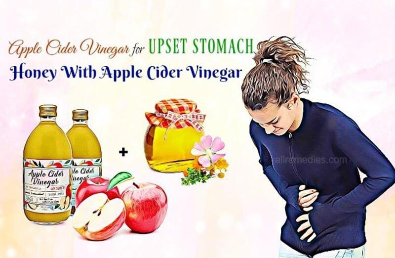 Apple Cider Vinegar for an Upset Stomach