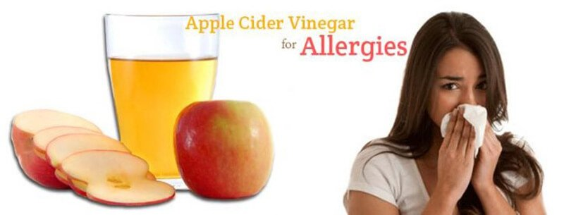 Apple cider vinegar and allergies