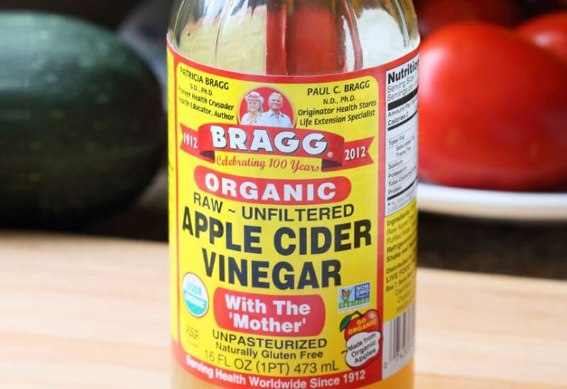 Apple cider vinegar for poison ivy