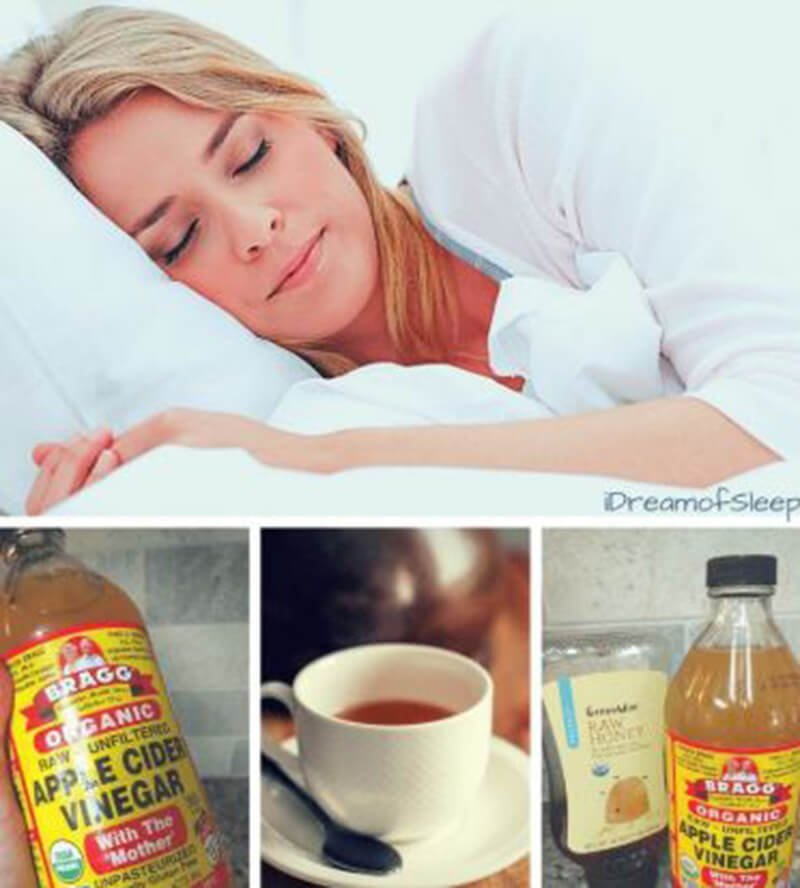 Apple cider vinegar for sleep