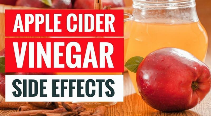 cons of apple cider vinegar