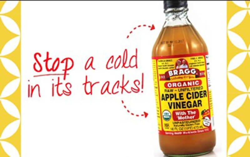 Is Apple Cider Vinegar Good For Colds