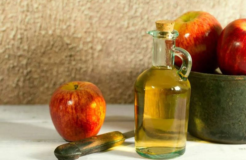 apple cider vinegar for fatty liver
