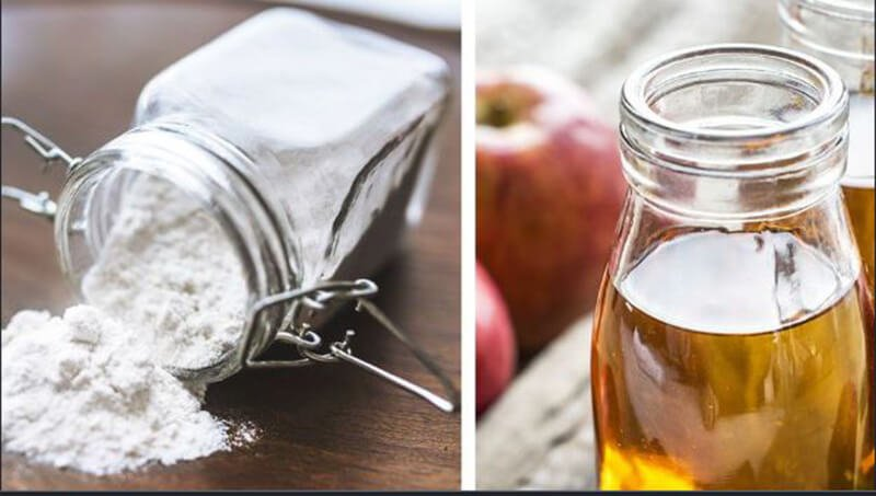 what are advantages of apple cider vinegar and baking soda
