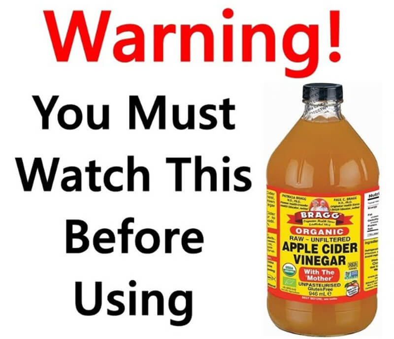 Apple Cider Vinegar Warnings