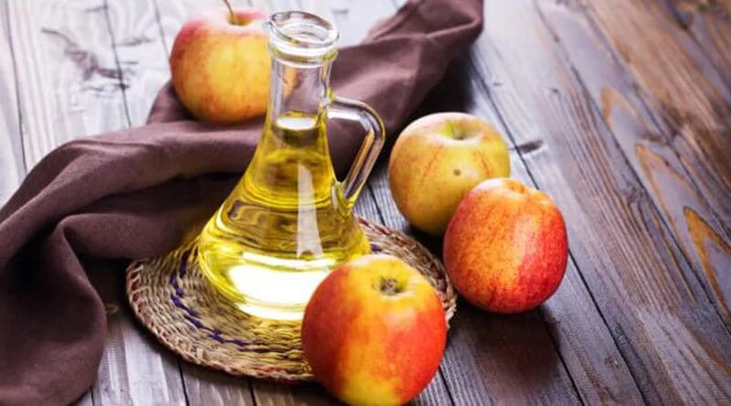 Remedy with apple cider vinegar