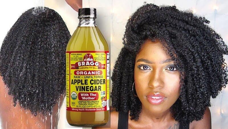 Organic Apple Cider Vinegar Hair Rinse