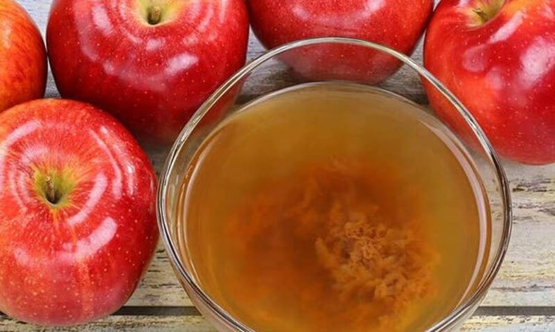 apple cider vinegar mother