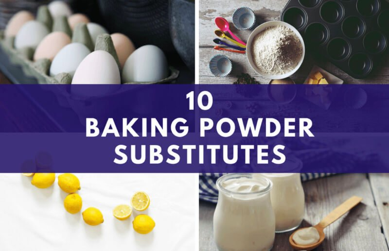 Top 10 Baking Powder Substitute