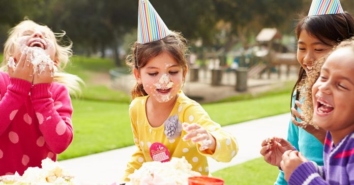 our kids a great birthday party during COVID-19