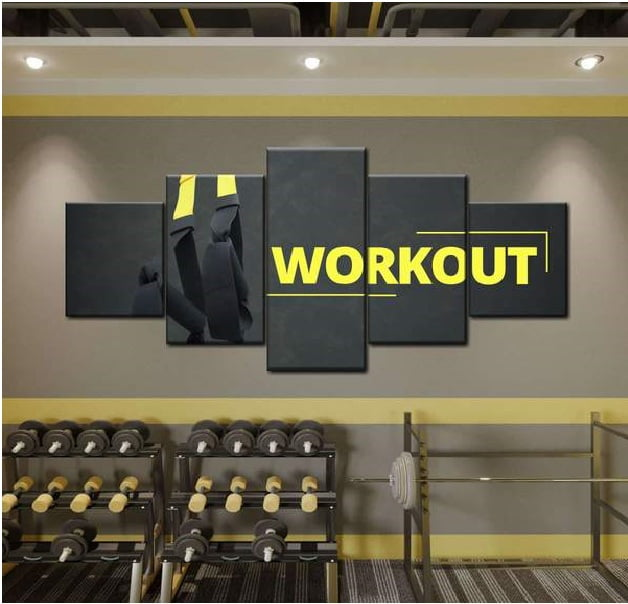 Fitness Room Some Color