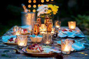 10. Romantic In-Home Dinner